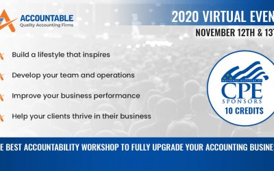 Accountable 2020, The Best Workshop to Fully Upgrade Your Accounting Business