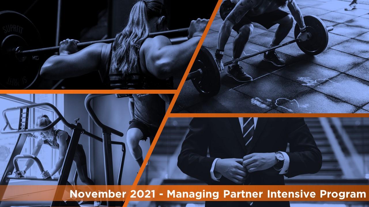 Managing Partner Intensive Program